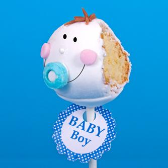 Popcakes bébé garçon
