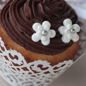 Cupcake chocolat cerises